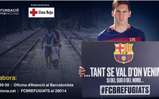 Barcelona renueva a un acuerdo con la Cruz Roja