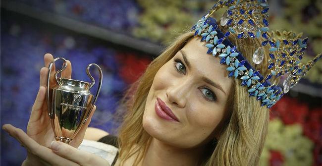 Mireia Lalaguna, Miss Mundo, en SPORT