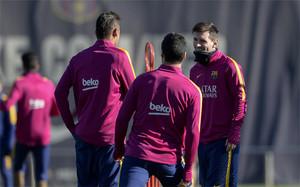 El Barcelona cuida a sus jugadores