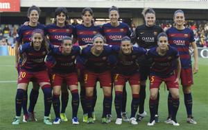 Este fue el once inicial del FC Barcelona ante el PSG