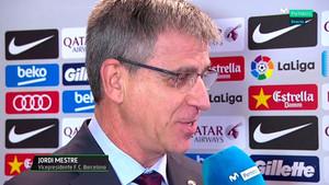 Jordi Mestre espera una rápida recuperación de Busquets