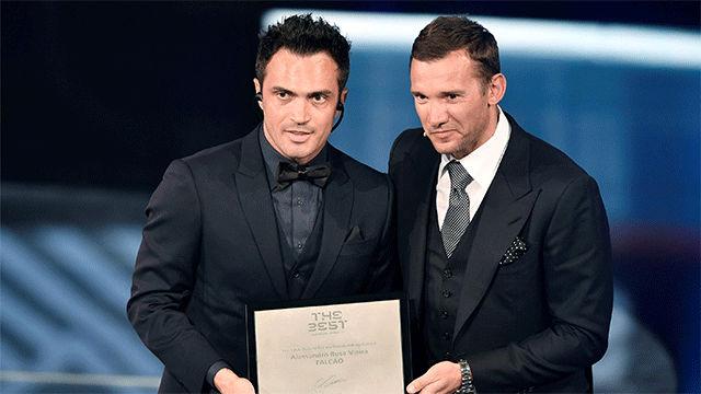 Resultado de imagen para Falcao fifa the best