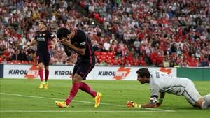 El Barça falló en San Mamés y se juega los cuartos en el Camp Nou