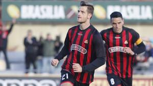 El Reus logró los tres puntos gracias a un gol de Máyor