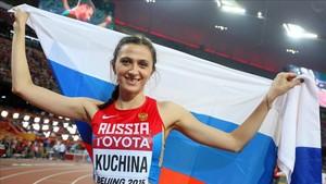Kúchina se queda sin otra gran competición por decisión de la IAFF