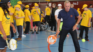 Johan Cruyff estuvo siempre comprometido e identificado con los valores de su Fundación