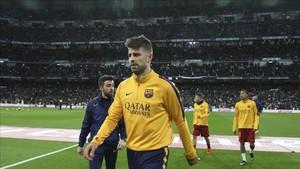 A Piqué le esperan con ganas en el Santiago Bernabéu