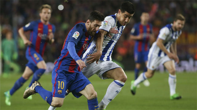 Video resumen FC Barcelona - Real Sociedad. Jornada 32, Liga Santander 16-17
