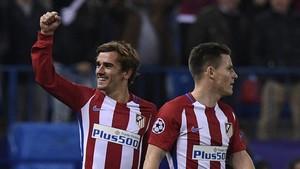 Griezmann y Gameiro no juegan juntos en la Liga Santander desde el 3-1 al Sevilla del pasado 19 de marzo