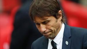 Antonio Conte protestó el arbitraje del Arsenal-Chelsea de la FA Cup
