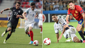 Alemania y España juegan la final del Europeo sub-21 tras eliminar a Inglaterra e Italia en semifinales