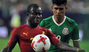 México ganó a Ghana en un amistoso