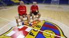 Andreu Plaza y Miguel Andrés, optimistas ante el reto europeo