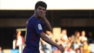 Carles Aleñá liderará el centro del campo blaugrana en Los Pajaritos
