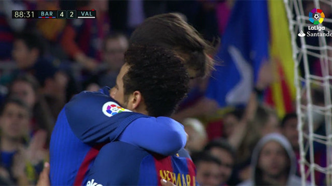 Andre Gomes and Neymar