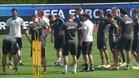 Hamsik contra Alemania