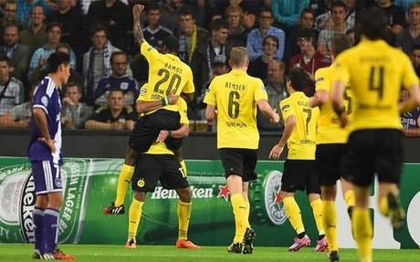 El Borussia ejerci� su papel de favorito
