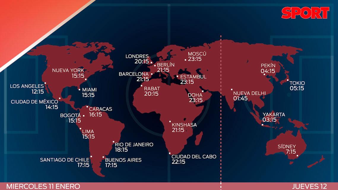 Estos son los horarios del Athletic Club - FC Barcleona