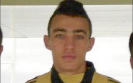 Fotograf�a de Munir cuando jugaba en el cadete A del Rayo Majadahonda