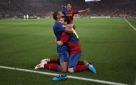 """Messi, a Henry: """"Nunca olvidaré lo que vivimos"""""""