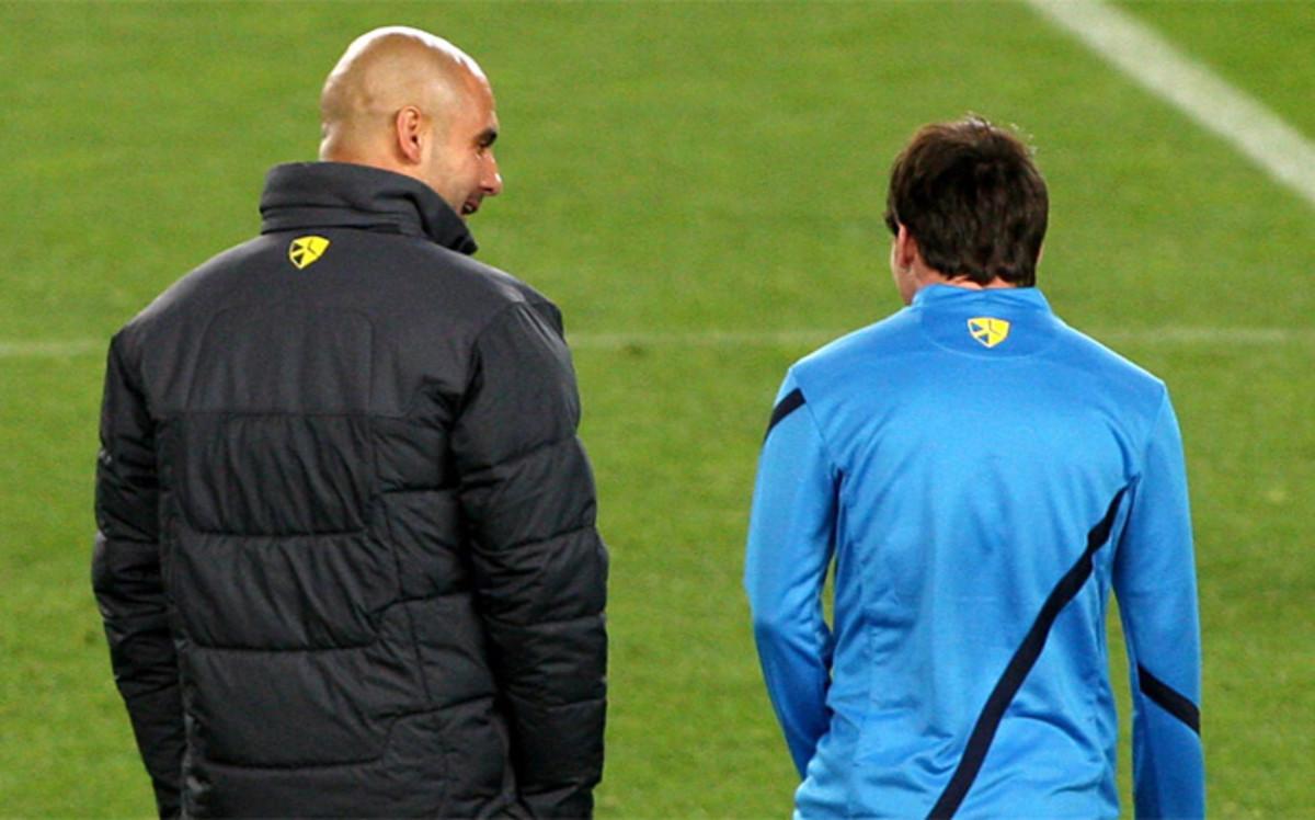 La admiración de Pep Guardiola hacia Leo Messi en diez frases
