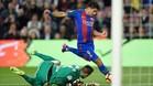Luis Suárez se reencontró con el gol