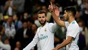Marco Ansesio fue el autor del segundo gol del Real Madrid