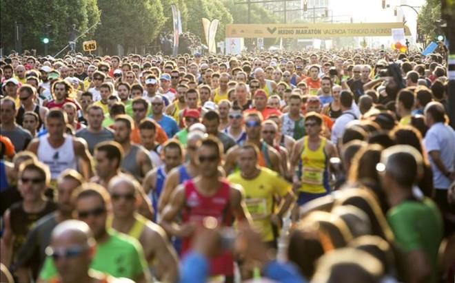 Medio marat�n de Valencia 2014
