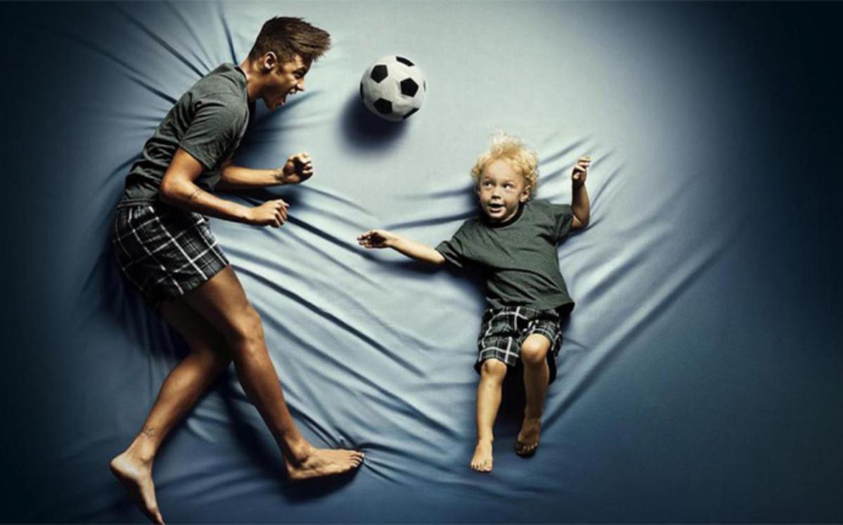 Neymar y su hijo: Dupla perfecta