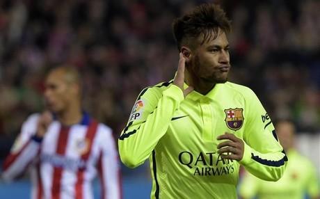 Neymar le ha marcado dos goles al Atl�tico