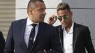 Neymar y su padre declararon el martes en la Audiencia Nacional