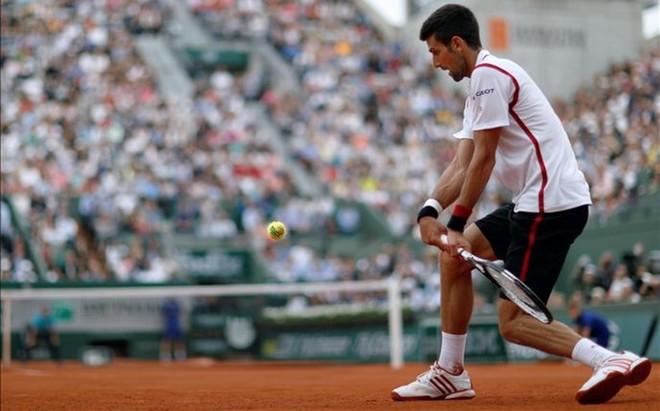 Novak Djokovic se ha sentido inc�modo en muchas fases del duelo con Steve Darcis