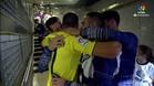 El reencuentro de Cherysev con sus ex compañeros del Real Madrid
