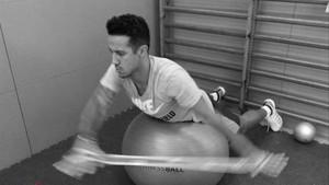 Thiago sabe lo que es trabajar duro en una recuperación