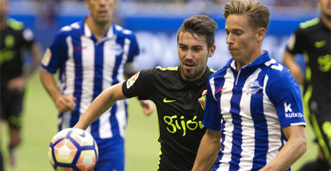 V�deo resumen Alav�s - Sporting. Jornada 2 Liga Santander 2016-17