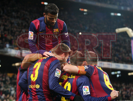 صور : مباراة برشلونة - فياريال 3-1 ( 11-02-2015 ) 1423690314337