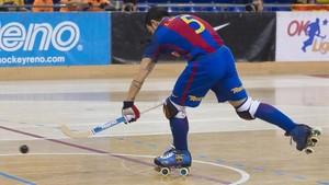 Lucas Ordoñez fue el autor del único gol de los barcelonistas