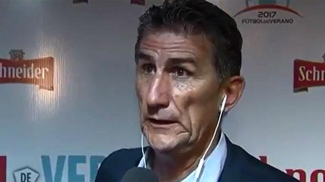 Bauza habló sobre la pubalgia de Messi