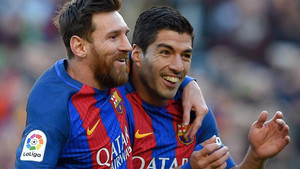Messi y Suárez, a un gol de la Bota de Oro