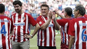 Radomir Antic fue uno de los protagonistas del último partido de la historia en el Calderón