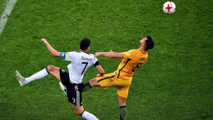 Alemania sufrió para derrotar a una Australia respondona