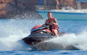 Verratti sigue relajándose en Ibiza