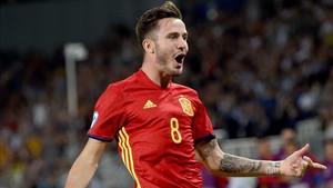 Saúl Ñíguez firmó un partido espectacular ante Italia