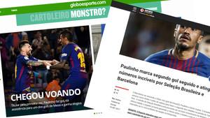 Paulinho se gana los elogios en sus primeras apariciones con el Barça