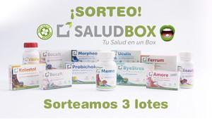 Consigue un lote de complementos alimenticios SALUDBOX