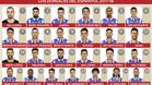 Los dorsales del espanyol 2017-18