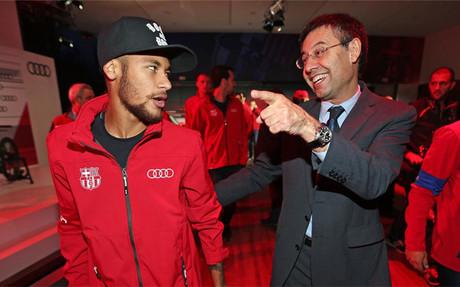 El Bar�a tiene dise�ada la renovaci�n de Neymar