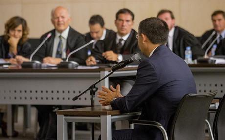 Bartomeu declar� ante el juez por el caso Laporta