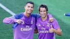 Cristiano y Coentrao siguen entrenando al margen