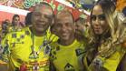 El padre y la hermana de Neymar disfrutan del Carnaval de R�o